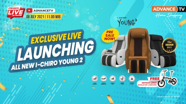 Exclusive Launching All New I-chiro Young 2